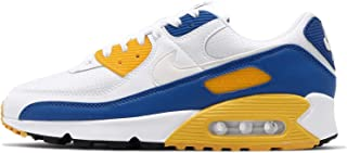NIKE AIR MAX 90 Men,s shoe White/Varsity Maize/Varsity Royal CT4352-101
