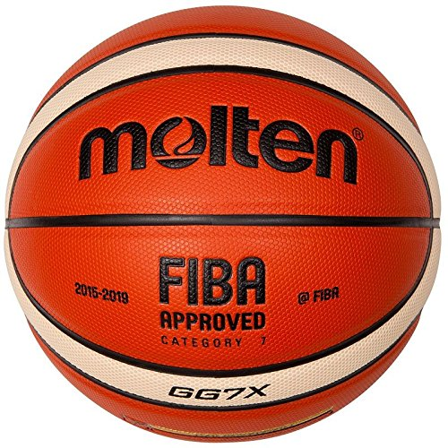 molten Basketball, Orange/Ivory, 6