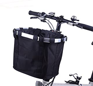 folding front bike basket
