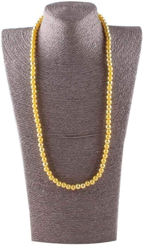 Zozu Vintage beads 8mm Imitate Pear Shiny Fashion Popular Pearl Safety and trust Necklace