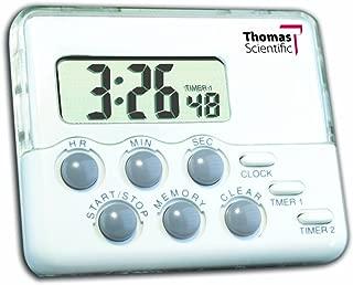 Thomas 5132 Traceable Nano Timer, 0.01 Percent Accuracy, 2