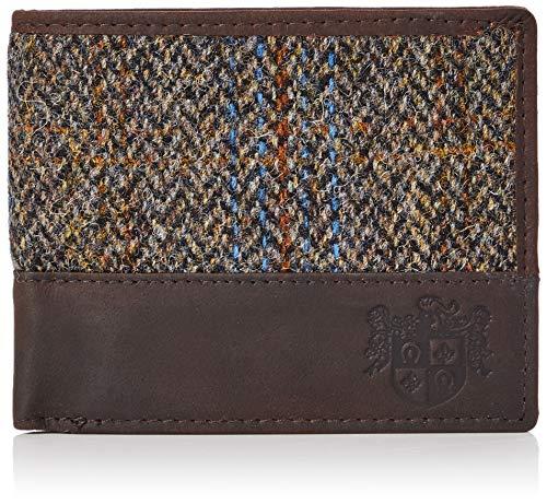The British Bag Company 708990, Portafogli uomo Marrone Marrone (Brown)