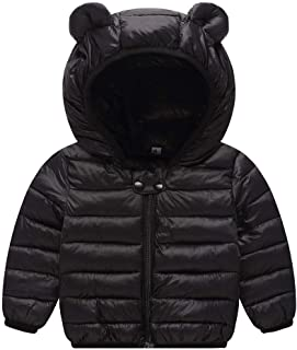 Happy childhood Brown Ears Hoodeie Bear Jacket Coat Micro Fleece Long Sleeve Zip up Sweatshirt for Baby Boys Girls