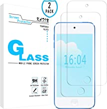 KATIN iPod Touch Screen Protector - [2-Pack] for Apple iPod Touch (7th Generation / 6th Gen / 5th Gen) Tempered Glass [No-Bubble] 9H Hardness with Lifetime Replacement Warranty