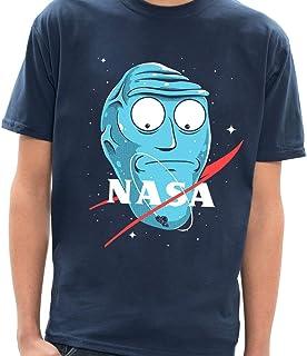 - Camiseta Rick and Morty Nasa - Masculina