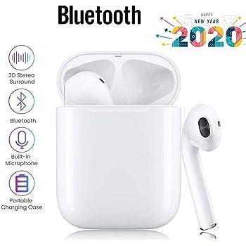 Auriculares inalámbricos Bluetooth 5.0,Control táctil, micrófono ...