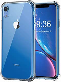 KOONDY iPhone XR Clear Case - Protection Case for Apple iPhone XR - Camera Protection - Shock-Absorption Bumper Cover (iPh...