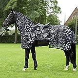 BUSSE everline Ausreitdecke MOSKITO ZEBRA II Rückenlänge 115 cm, zebra