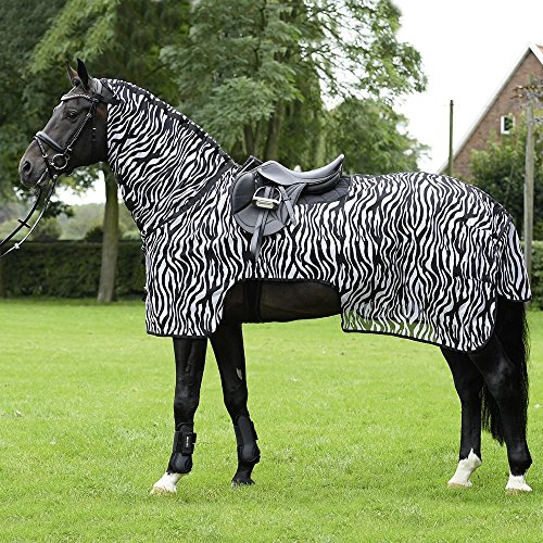 BUSSE everline Ausreitdecke MOSKITO ZEBRA II Rückenlänge 135 cm, zebra
