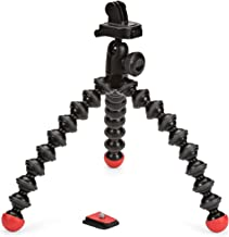 JOBY GorillaPod Action Video Tripod - A Strong, Flexible, Lightweight Tripod for GoPro HERO6 Black, GoPro HERO5 Black, GoP...