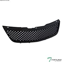 Topline Autopart Black Mesh Front Hood Bumper Grill Grille ABS For 00-05 Chevy Impala