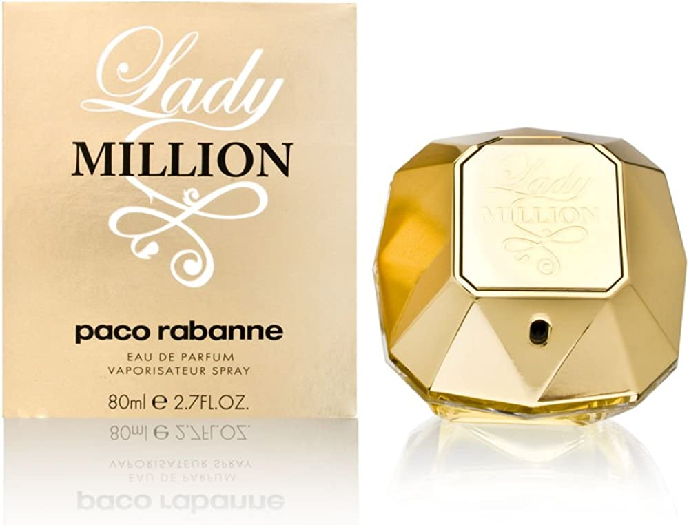 Paco rabanne eau de parfum, donna, 80 ml lady million 202792