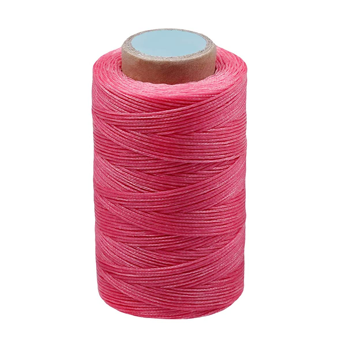 MIUSIE Colorful 284Yards Leather Sewing Waxed Thread-Practical Long Stitching Thread for Leather Craft DIY/Bookbinding/Shoe Repairing/Leather Projects