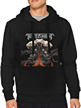 JTYHYRTUVE Adult Fashion Mans Cool Music Concert Casual Long Sleeves Pullover Hoodie Sweater Black Gift