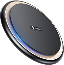 Andobil Boost 15W Fast Wireless Charger, USB-C Qi Certified Alloy Cooling Charging Pad Station 10W 7.5W Compatible iPhone 11/X/Xs Max/Xs/Xr/8, Samsung Galaxy S10/S10+/S9/S9+/S8/S7/Note 9, LG V40 G7