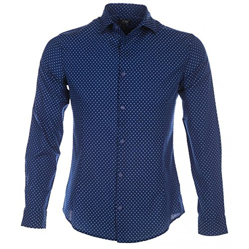 Armani Jeans Slim Fit Fastasia shirt met patroon
