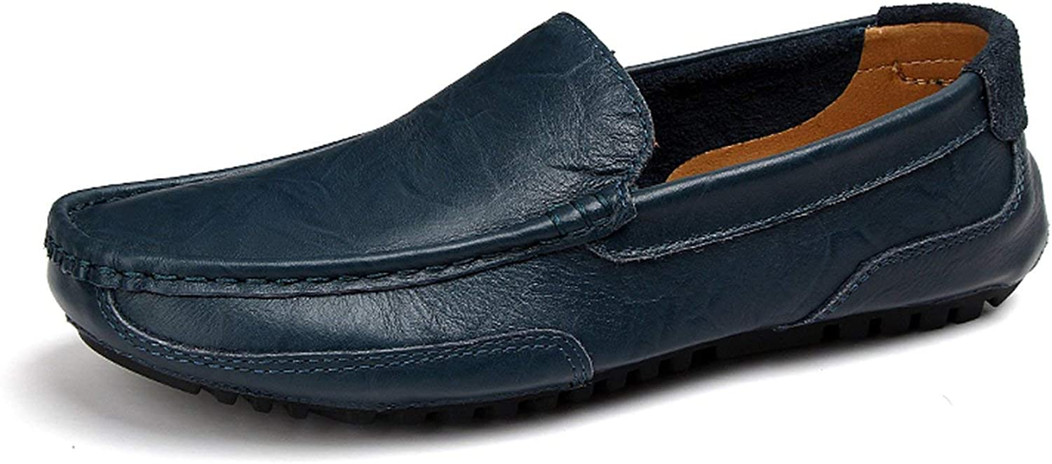 ALWAYS ME Loafers Men Leather Casual shoes Adult Moccasins Men Driving shoes Male Footwear