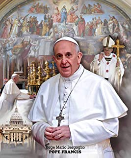 Wishum Gregory, Pope Francis - Art Print Poster, Paper Size 20