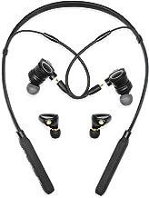 Wireless Headphones, GIVEMIFIVE Bluetooth V4.2 HD Neckband Headphones Kit 2 Sets MMCX Dual Hybrid Driver Balanced Armature Detachable in Ear Earbuds 1x 3.5mm Corde High Resolution DJ Monitor