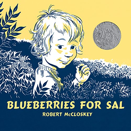 Blueberries for Sal audiobook cover art