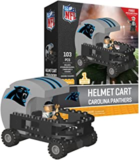 Carolina Panthers OYO Sports Helmet Cart with Minifigure 103PCS