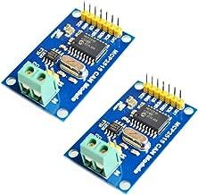 HiLetgo 2pcs MCP2515 CAN Bus Module TJA1050 Receiver SPI Module for Arduino AVR