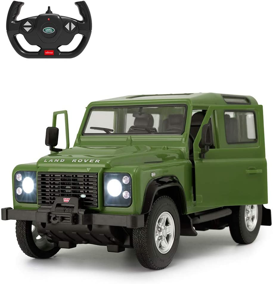 Land Rover Defender RC Car RASTAR Remote It is very popular 14 1 Contro Max 53% OFF