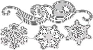 Shangwelluk Copo de Nieve de Navidad Troqueles de Corte Metal en Relieve Dies Corte Plantillas De