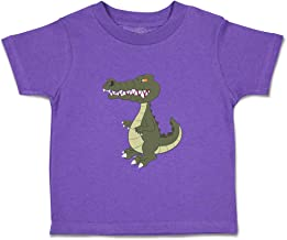 Custom Baby & Toddler T-Shirt Crocodile Angry Animals Cotton Boy Girl Clothes