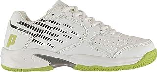Prince Reflex Ragazzo Scarpe da Tennis Ginnastica Stringate Bianco/Giallo