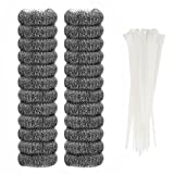 24 Pieces Lint Traps Stainless Steel (Never...