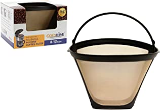 GoldTone Brand Reusable No.4 Cone Style Replacement Coffee Filter replaces your Cuisinart..