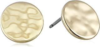 Kenneth Cole New York Hammered Disc Earrings