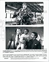 Historic Images - 1992 Press Photo Burt Reynolds, T. McCleister, N. Golden II Cop and A Half