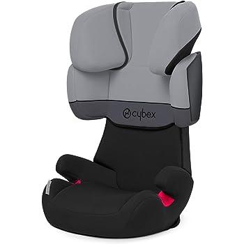 Cybex Silver Solution X-Fix, Seggiolino Auto per Bambini, Gruppo 2/3/15-36 kg, da 3 fino a 12 Anni Circa, senza ISOFIX, Grigio/Cobblestone/Light Grey