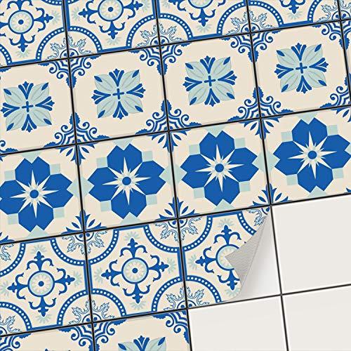 creatisto Mosaik Klebefliesen Stickerfliesen Fliesenfolie - Hochwertige Aufkleber Sticker für Fliesen I Stickerfliesen - Mosaikfliesen für...