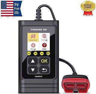 THINKOBD100 OBDII OBD2/ EOBD Vehicles Diagnostics Code Reader Scanner Tool/auto car Diagnostic/Scanner Automotive Engine Fault Code Reader/auto Full-System Diagnostic Tool ODBII