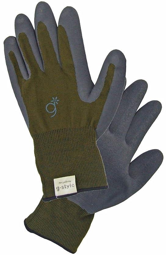 g-style 【ガーデニング用手袋】 ラバーファーム オリーブ L