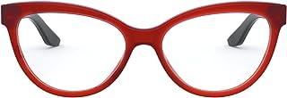 Ralph Lauren Women's RL6192 Cat Eye Prescription Eyeglass Frames, Opaline Coral/Demo Lens, 54 mm