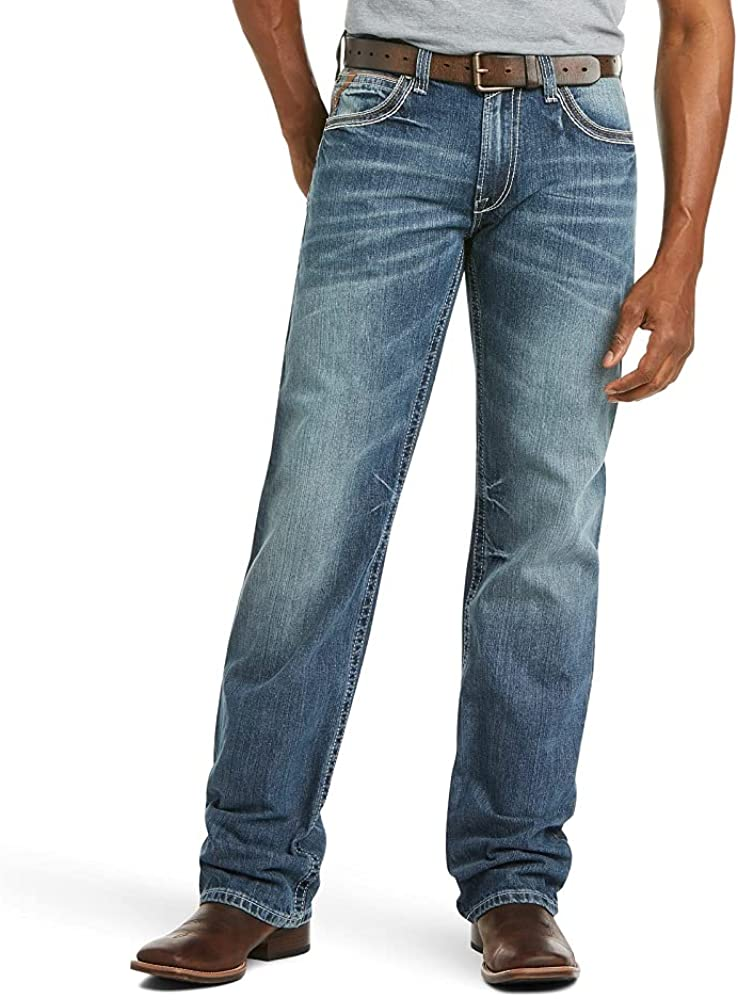 Ariat M4 Max 74% OFF Low Rise Boot Cut Denim Fit Relaxed Direct sale of manufacturer Jeans Men's –