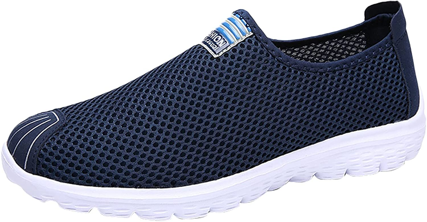 USYFAKGH Men's Shoes Couple Shoes Lightweight Fashion Sports Running Shoes Slip on Shoes for Women