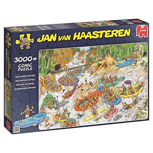 Jumbo- Wild Water Rafting 3000 pcs Juguetes, Multicolor (619017)