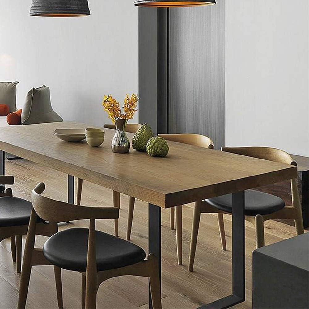 color blanco mesa de caf/é 60 x 72 cm Juego de 2 patas de mesa mesa de comedor LeMeiZhiJia patas de mesa patas de mesa