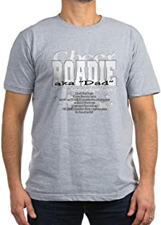 Cheer Roadie Dad T-Shirt - Men's Fitted T-Shirt, Stylish Printed Vintage Fit T-Shirt