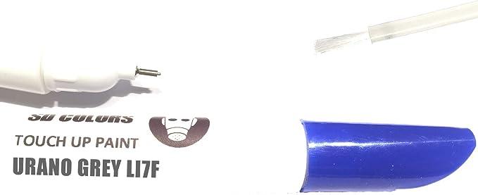 Sd Colors Urano Grey Li7f I7f 5k Lackstift Reparatur Set 12 Ml Pinsel Mit Kratzabsplitterung Farbcode Li7f I7f 5k Uranograu Just Paint Auto