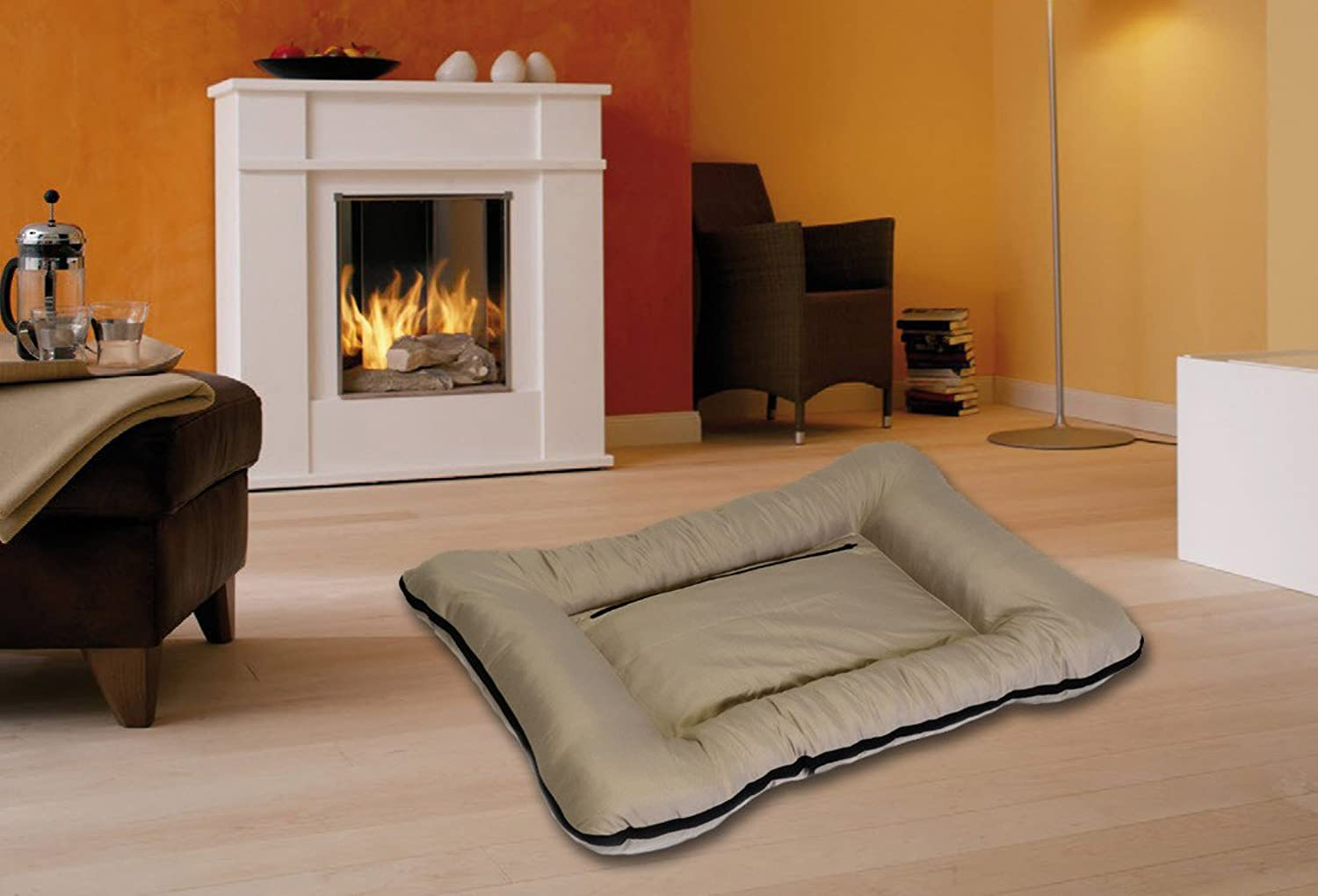 Best For Pets Dog Bed with TüV Quality Dog Cushion Dog Sofa BELLO MXXXL in many colors (MOCCA, XXL)