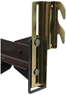 #711 Bolt-On to Hook-On Bed Frame Conversion Brackets with Hardware Hook Plate