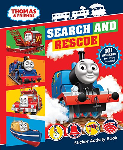 Thomas & Friends: Search and Rescue Sticker Activity Book