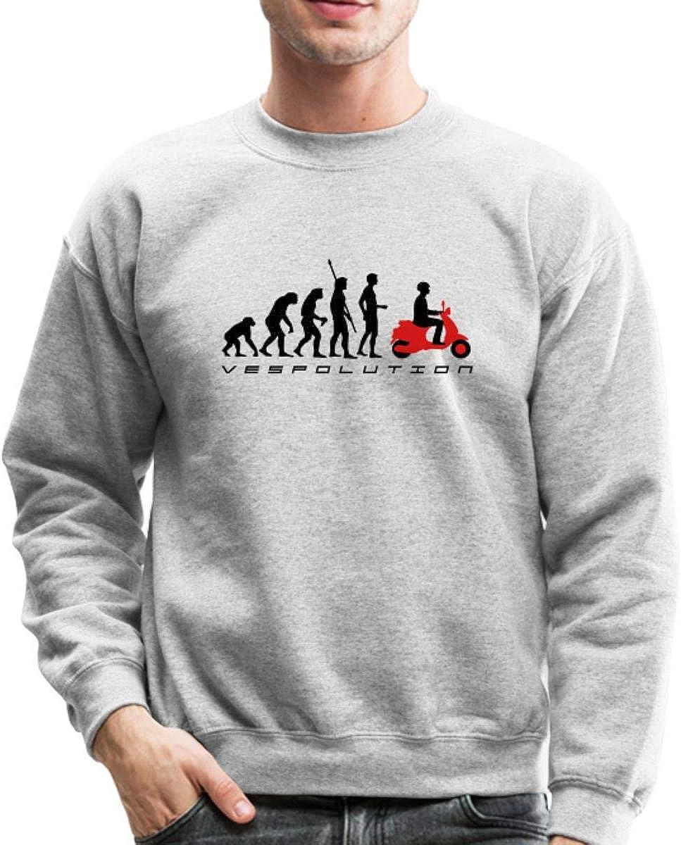 Spreadshirt Vespolution price NEW Evolution Crewneck Sweatshirt Scooter