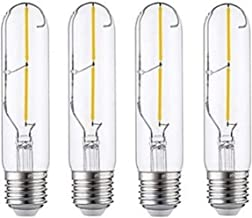 LED Light Source Led lamp Super Bright 3W E27 Size Schroef Mouth Warm Wit Imitatie Tungsten gloeilamp (vier Pack) (Color :...